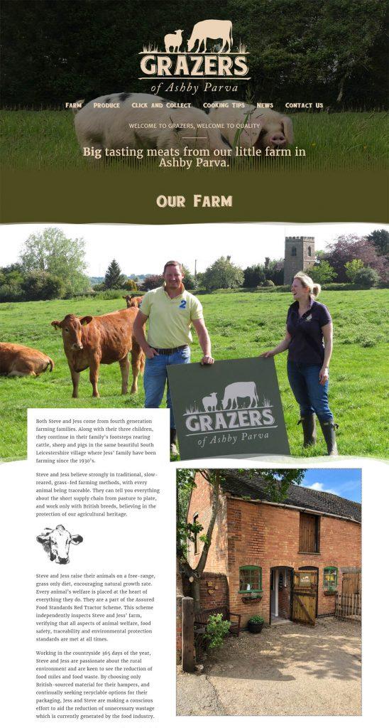 Farm Shop Website