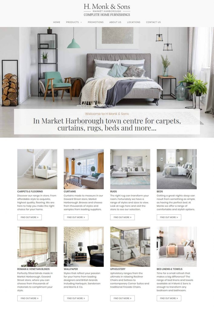 Interior Furnishing Website
