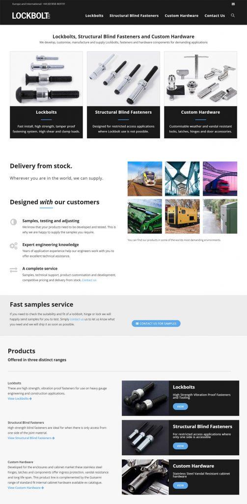 Lockbolt ERS Website