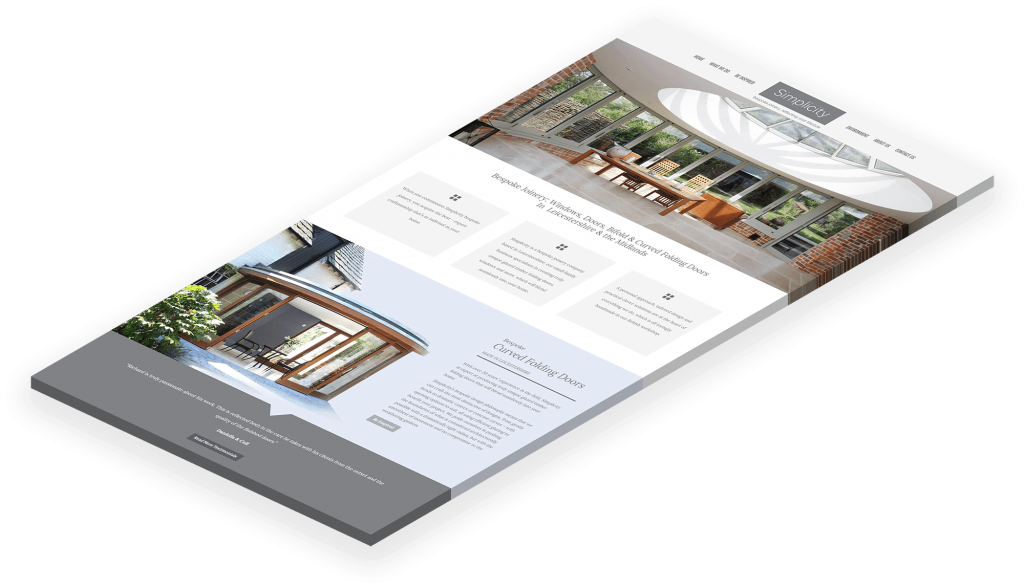Simplicity Timber Solutions Website